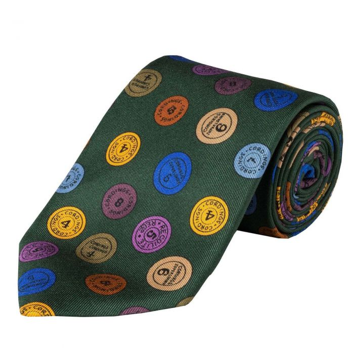 Olive Green 36oz Cartridge Cap Silk Tie