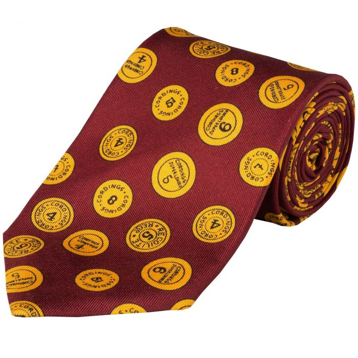 Claret 36oz Cartridge Cap Silk Tie