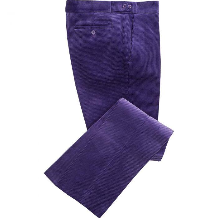 Violet Corduroy Trousers