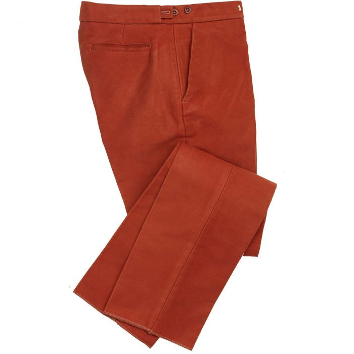 Cinnamon Moleskin Trousers