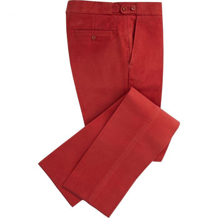Rust Moleskin Trousers