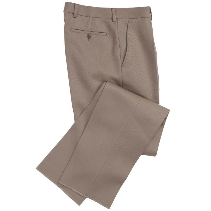 Tan Cavalry Twill Trousers