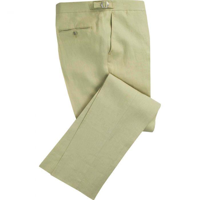Light Green Linen Trousers