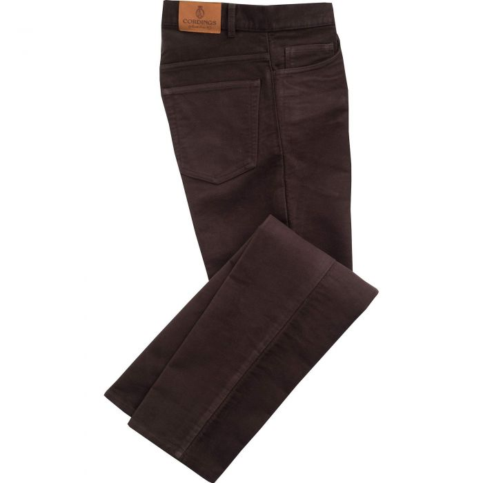 Brown Moleskin Jeans