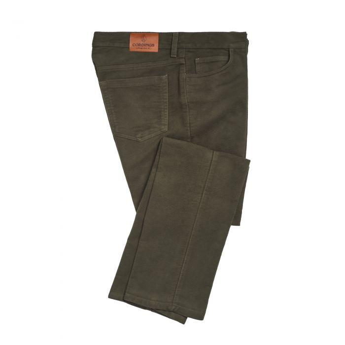 Green Stonecutter Moleskin Jean