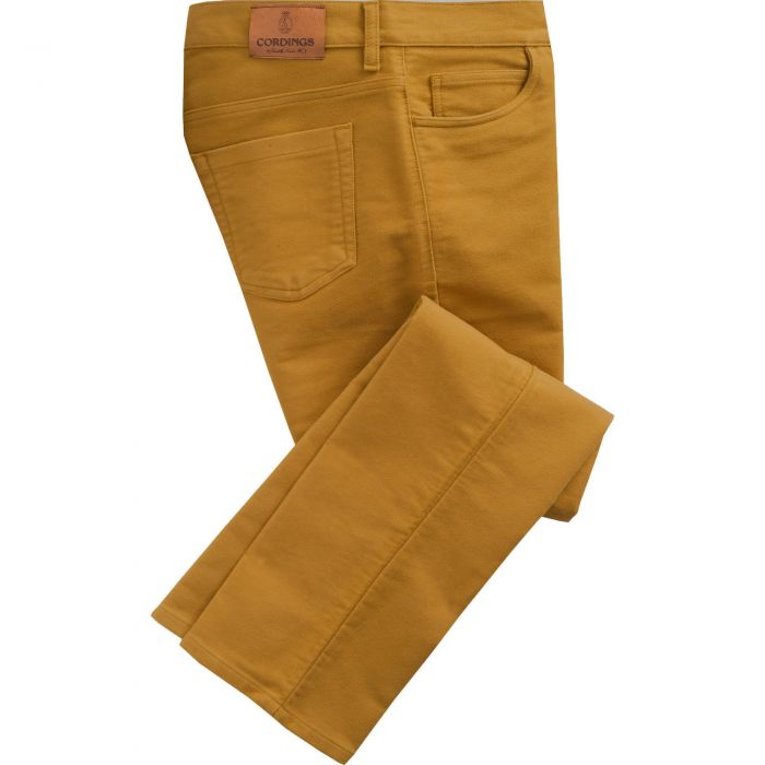 Mustard Stonecutter Moleskin Jean