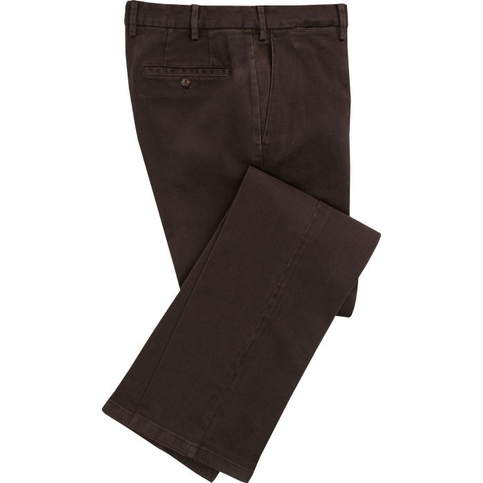 Brown Cattrick Heavy Drill Trouser