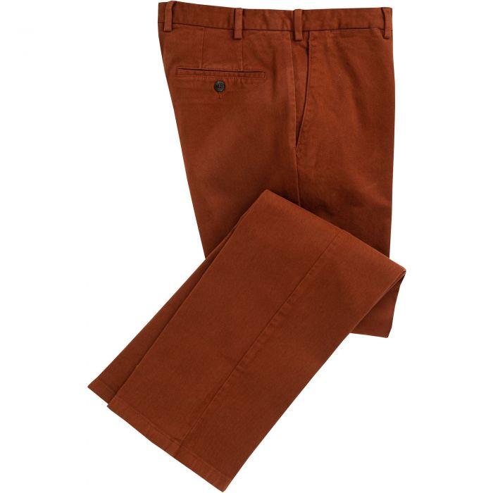 Cinnamon Cattrick Heavy Drill Trouser