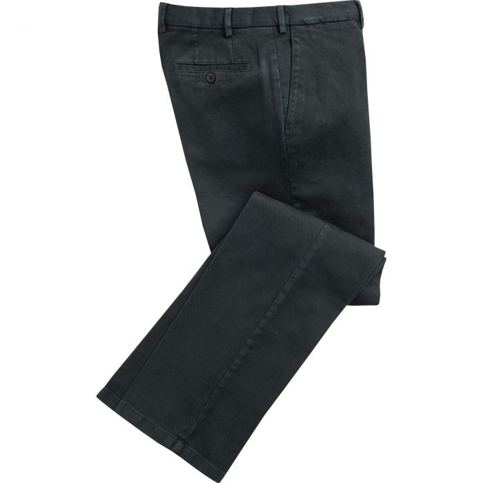 Dark Green Cattrick Heavy Drill Trouser
