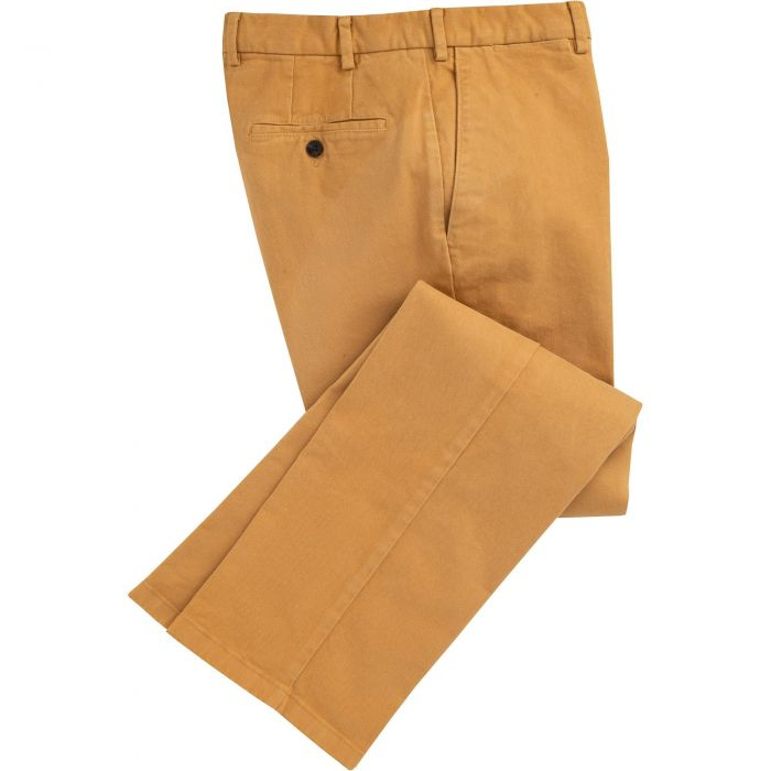 Mustard Cattrick Heavy Drill Trouser