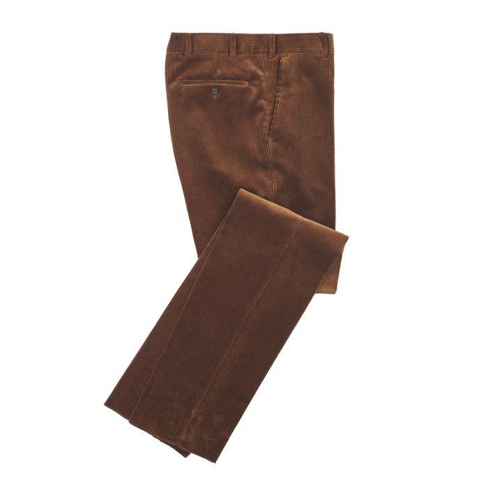 Chestnut York Corduroy Trousers