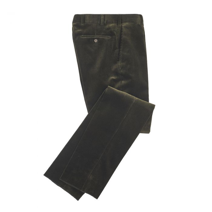 Olive York Corduroy Trousers