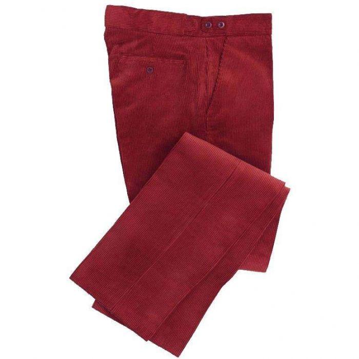 Garnet Corduroy Trousers