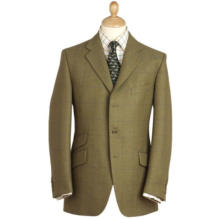 House Check Tweed Jacket