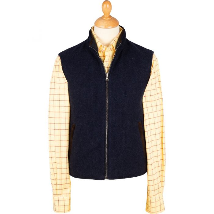 The Daventry Cashmere Reversible Gilet