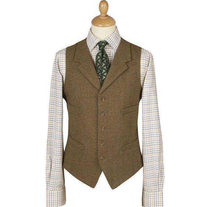 Barleycorn Tweed Waistcoat