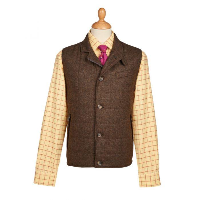 The Ebury Brown Shetland Waistcoat