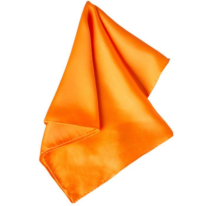 Orange Solid Silk Hank