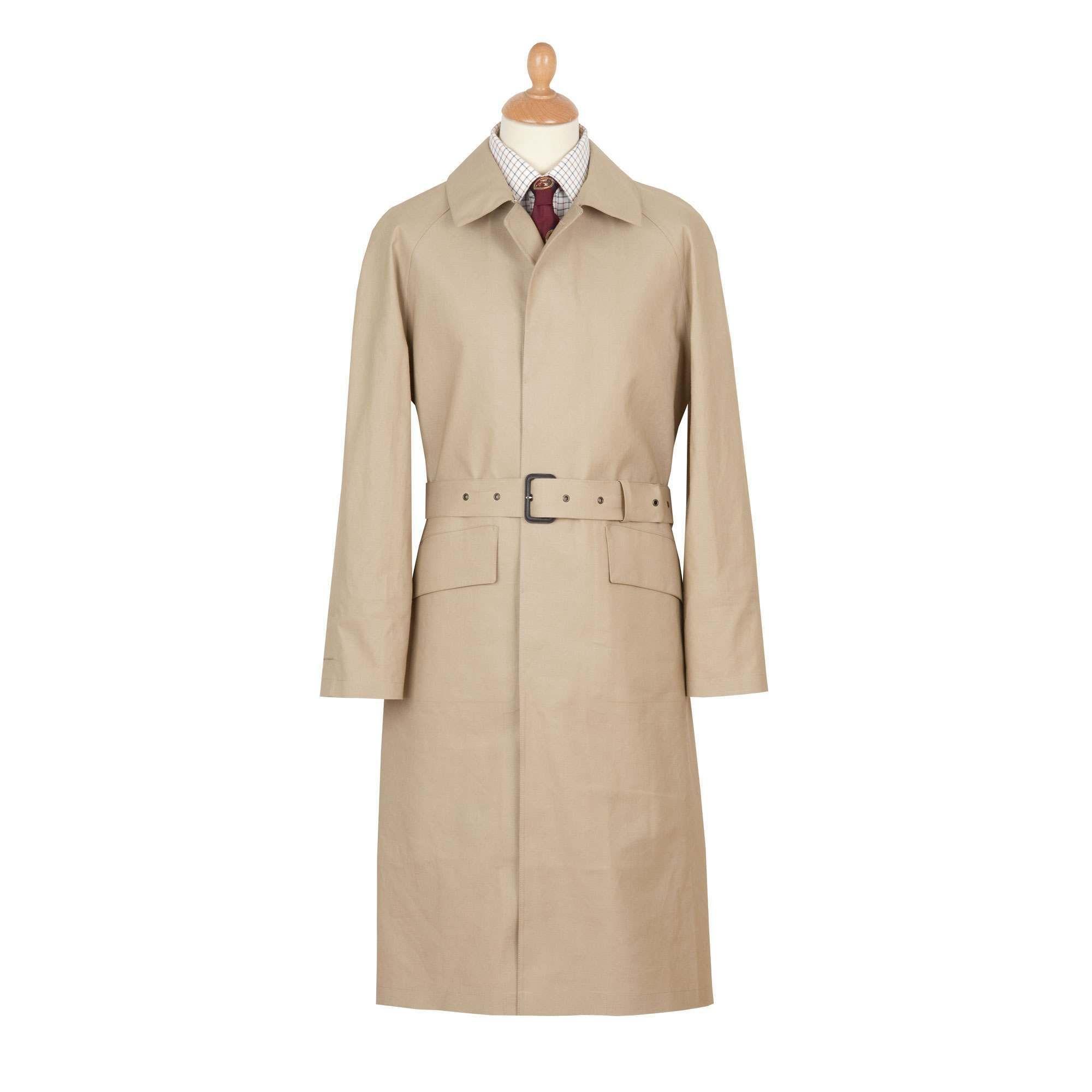 Fawn Hampton Mackintosh Raincoat | Men's Country Clothing ...