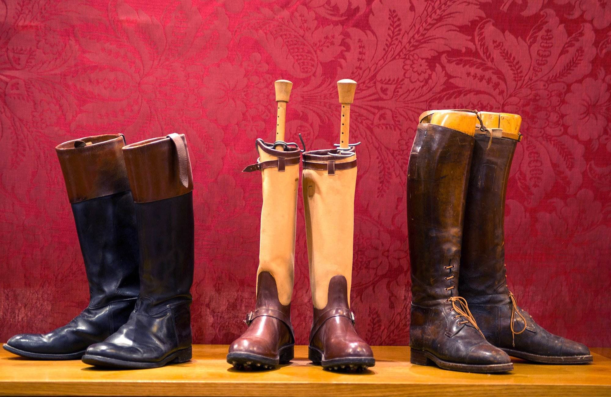 Original boots made by Cordings.